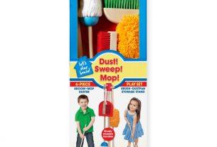 Ötletes gyerek takarítószett